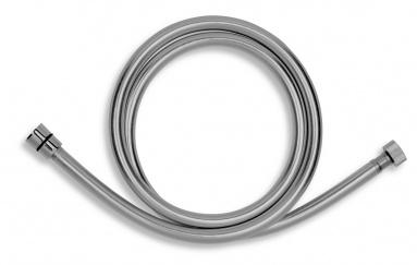 NOVASERVISSprchová hadice plastová, 150 cm, stříbrošedá