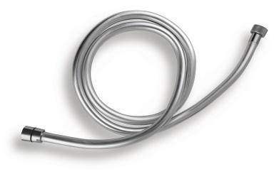 NOVASERVISSprchová hadice plastová, stříbrná, 175cm