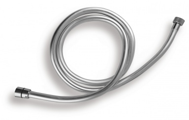 NOVASERVISSprchová hadice plastová, stříbrná, 200cm