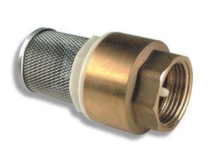 """NOVASERVISZpětná klapka s nerezovým filtrem 2"""""""