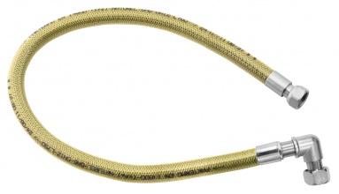 """NOVASERVISPlynová připojovací hadice s kolínkem 1/2"""" MM-0,5m"""