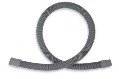 NOVASERVISPračková vypouštěcí hadice rovná šedá 46cm