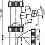NOVASERVISSifon dřezový s pračkovým vývodem 50/40 plast