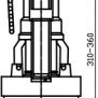 NOVASERVISVypouštěcí ventil jednotlačítkový plast