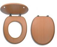 NOVASERVIS WC/BUK Sedátko dýhované dřevo