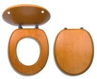 NOVASERVIS WC/ORECH Sedátko dýhované dřevo