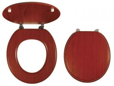 NOVASERVIS WC/ORECHLYRA Sedátko dýhované dřevo