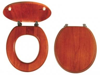 NOVASERVIS WC/DUBLYRA Sedátko masivní dřevo