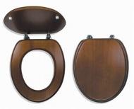 NOVASERVIS WC/DUB2 Sedátko dýhované dřevo