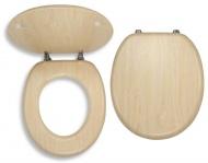 NOVASERVIS WC/BRIZA Sedátko dýhované dřevo