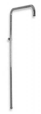 NOVASERVIS SET066,0 Sprchová tyč k baterii s horním vývodem chrom