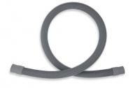 NOVASERVIS PV/100 Pračková vypouštěcí hadice rovná 100 cm šedá-100cm