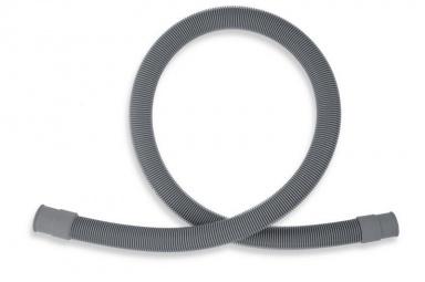 NOVASERVISPračková vypouštěcí hadice rovná šedá 100cm