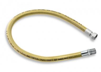 """NOVASERVISPlynová připojovací hadice 1/2"""" ŠM-0,75m"""